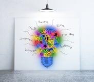 Concept créateur d'idée illustration de vecteur