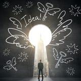 Concept créateur d'idées Image libre de droits