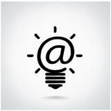 Concept créatif d'ampoule Images stock