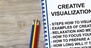 Concept créatif de visualisation images libres de droits