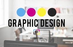 Concept créatif graphique d'ébauche de but de la planification de conception Photo libre de droits