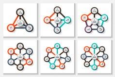 Concept créatif pour infographic Photo libre de droits