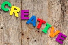 Concept of creative Royalty Free Stock Photos
