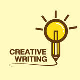 Concept of creative writing workshop Royalty Free Stock Photography