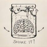 Concept creativiteit. Schets. Stock Afbeeldingen
