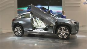 Concept crossover Subaru Viziv 2 Royalty Free Stock Photo
