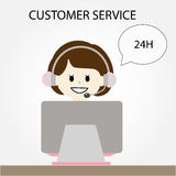 Concept of customer service Stock Photo