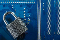 concept of cyber security Stock Images