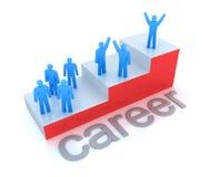 Concept d'échelle de carrière Image libre de droits