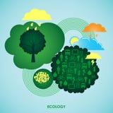 Concept d'écologie Photos stock