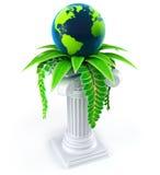 Concept d'écologie de globe Image libre de droits