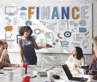 Concept d'économie d'argent d'investissement de crédit de finances Photographie stock libre de droits