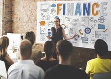 Concept d'économie d'argent d'investissement de crédit de finances Photographie stock