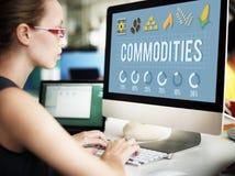 Concept d'économie de distribution de demande des produits images libres de droits