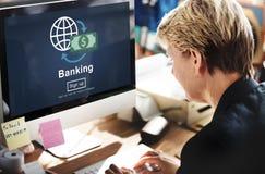 Concept d'économie de finances de compte d'activité bancaire photographie stock libre de droits