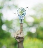 Concept d'économies d'énergie, éléments de cette image meublés par Photographie stock
