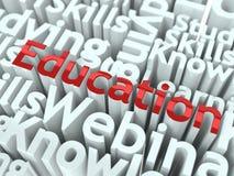 Concept d'éducation. Image libre de droits
