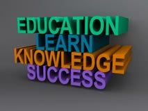 Concept d'éducation illustration stock