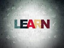 Concept d'éducation : Apprenez sur le papier de Digital Photos stock