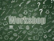 Concept d'éducation : Atelier sur le conseil pédagogique Images libres de droits