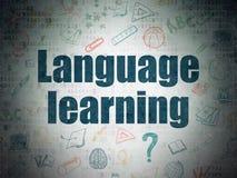 Concept d'éducation : Connaissance des langues sur Digital Image stock