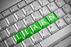 Concept d'éducation d'Internet Photos libres de droits
