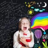 Concept d'éducation de créativité d'enfant Possibilités neuves photographie stock