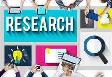 Concept d'éducation de découverte de la connaissance de l'information de recherches illustration libre de droits
