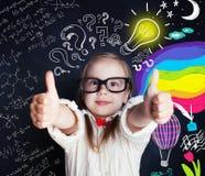 Concept d'éducation d'idées, de découverte et de créativité images stock