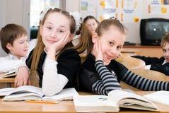 Concept d'éducation - instruisez les étudiants à la classe photos libres de droits