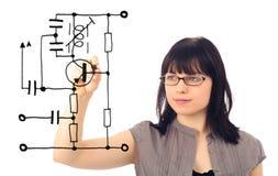 Concept d'électrotechnique Image stock