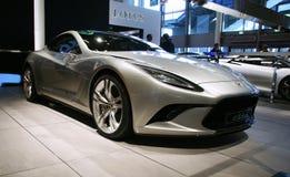 Concept d'élite de lotus au Salon de l'Automobile de Paris Photographie stock libre de droits