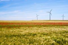 Concept d'énergie éolienne Photo libre de droits