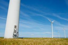 Concept d'énergie éolienne Photographie stock libre de droits