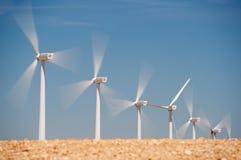 Concept d'énergie éolienne Photos libres de droits