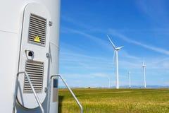 Concept d'énergie éolienne Images stock