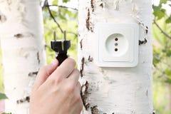 Concept d'énergie d'Eco Images stock