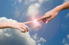Concept d'énergie naturelle Images libres de droits