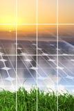 Concept d'énergie propre Images libres de droits