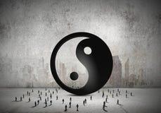 Concept d'équilibre Image libre de droits