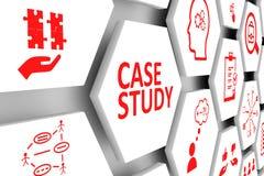 Concept d'étude de cas Illustration Stock