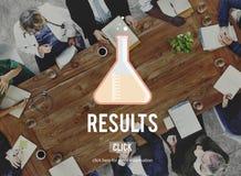 Concept d'évaluation d'évaluation de résultats d'effet de résultats photographie stock