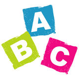 Concept d'ABC Photographie stock libre de droits