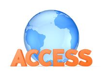 Concept d'Access. Photographie stock