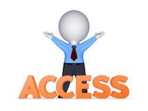 Concept d'Access. Photographie stock