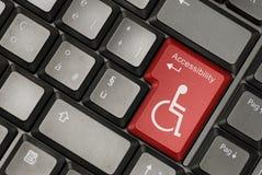 Concept d'accessibilité d'Internet Image libre de droits