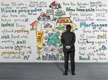 Concept d'acheter une maison Image stock