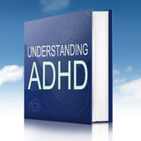 Concept d'ADHD. Photographie stock