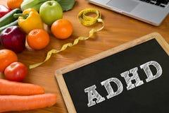 Concept d'ADHD Photos stock