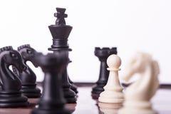 Concept d'affaires d'échecs de concurrence Image stock